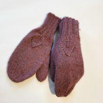 Babyalpaka Handschuhe Beere violett
