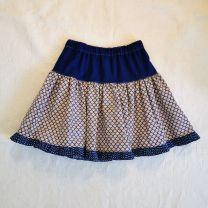 Kinderkleid Jupe handgenäht Grösse max 110 (5 Jahre)