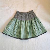 Kinderkleid Jupe handgenäht Grösse - max 134 (9 Jahre) verstellbar