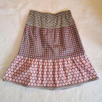 Kinderkleid Jupe handgenäht Grösse 140 verstellbar