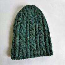 Babyalpaka Mütze grünlich