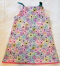 Kinderkleid handgenäht Grösse 80 (1 Jahr)